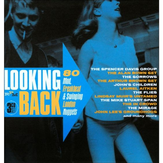 Various Artists - Looking Back: 80 Mod, Freakbeat & Swinging London Nuggets (CD)