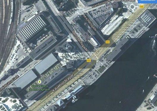 Projeto Urbano: City Dune, a praça privada,Contexto. . ImageFonte: maps.google.com