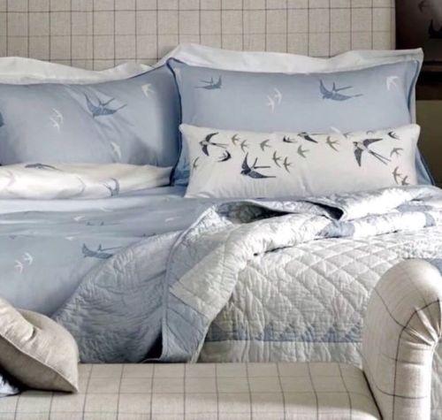Laura Ashley King Size Bluebirds Blue, Laura Ashley Bluebirds Bedding