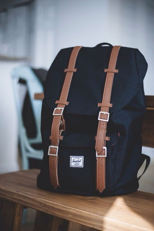 herschel supply co. backpack in a neutral color and in this style. i really want a backpack