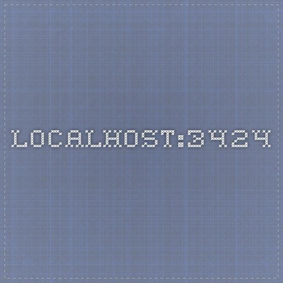 localhost:3424