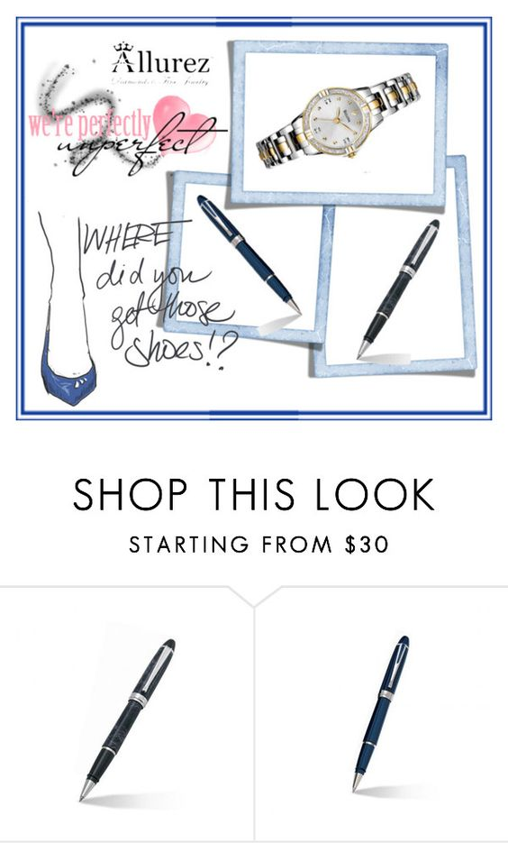 """""""Allurez 3"""" by red-rose-girl ❤ liked on Polyvore featuring Allurez and Bulova"""