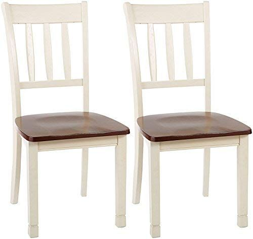 Ashley Furniture Signature Design Whitesburg Dining Room Side Chair Set Vintage Casual Rectangular Dining Room Table Side Chair Dining Room Dining Chairs