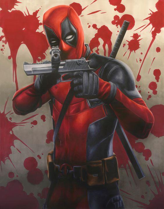Deadpool (created by Samuel Shin)