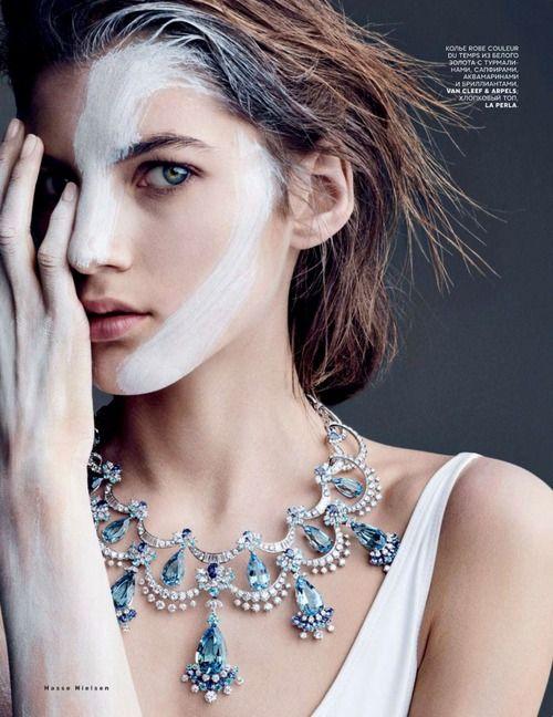 M: Valery Kaufman, P: Hasse Nielsen, S: Svetlana Tanakina (Vogue Russia September 2014)