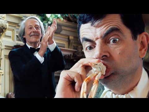 Seafood Bean Mr Bean S Holiday Funny Clips Mr Bean Official Youtube In 2021 Mr Bean Seafood Restaurant Paris Restaurants