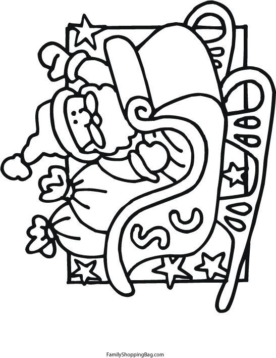 phelous santas slay coloring pages - photo#30