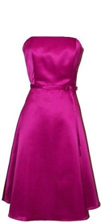 Perfect dress, perfect color, just need to add a little jacket or shawl.