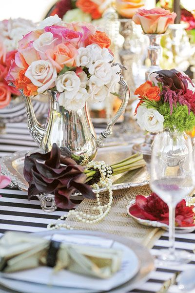 Tabletops: A Fashionable Twist - Exquisite Weddings