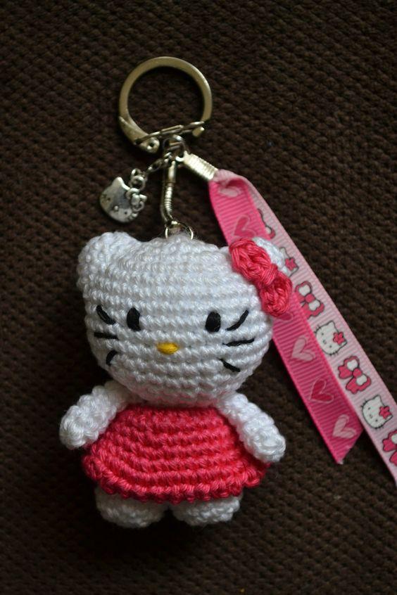 Mini Hello Kitty Amigurumi : Hello Kitty CROCHET HELLO KITTY Pinterest Hello ...