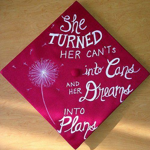 Creative ways to decorate your graduation cap