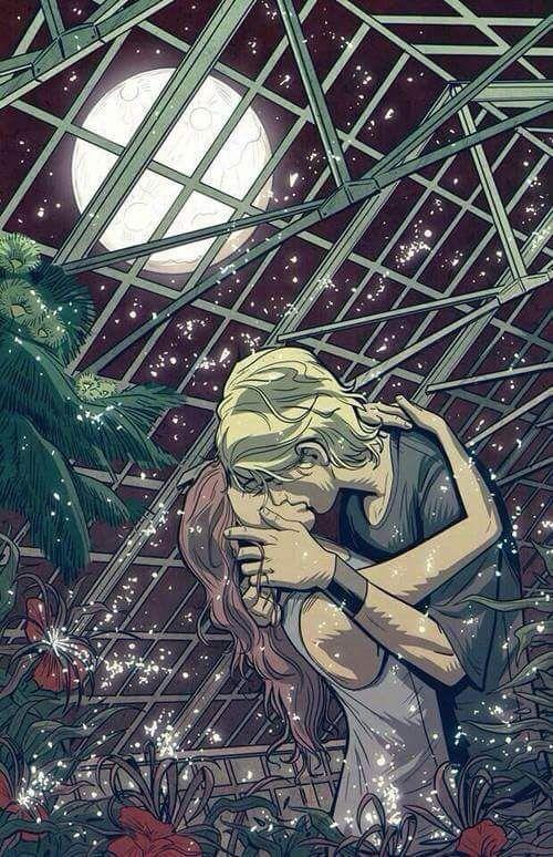 Jace y Clary Ciudad de Hueso