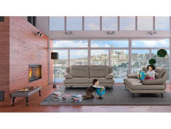 Calia Italia 2er Sofa Cezanne Grau Mit Sitztiefenverstellung Wooden Sofa Designs Sofa Design Small Living Rooms
