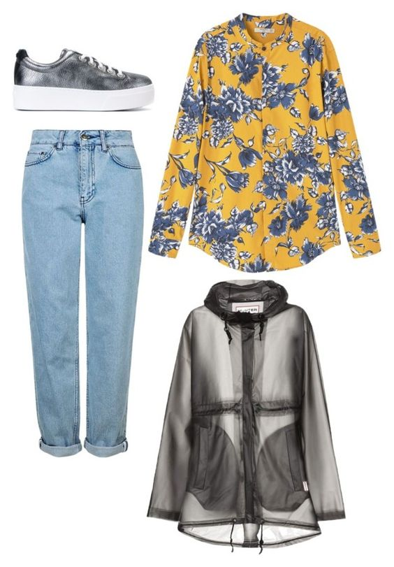 """""""Senza titolo #1157"""" by mrsagati ❤ liked on Polyvore featuring Topshop, MANGO, Kenzo and Hunter"""