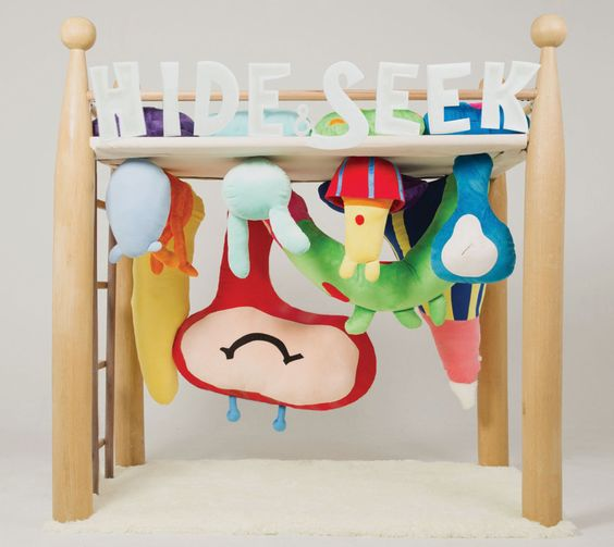 a special bed for children. by HUANG YEN LI.