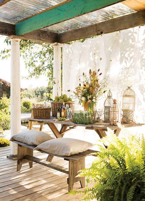 backyard: