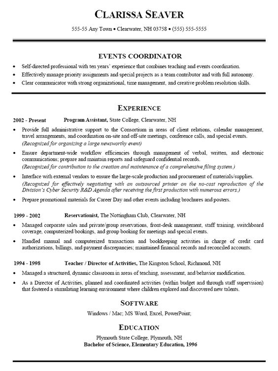 plumber cv example resume job pinterest cv examples conference manager sample resume - Conference Manager Sample Resume
