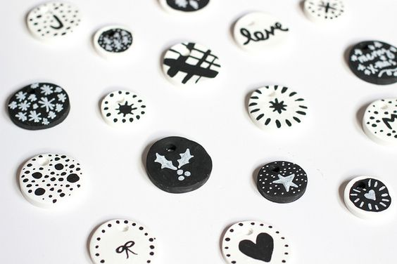 For the Makers: Clay Ornaments by Jeni Baker, via Flickr
