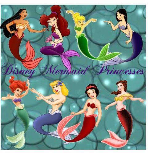 Claudette Violetta: Video Princesas Disney Sirenas.