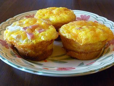 Biscuit & egg puffs: Breakfast Biscuit, Biscuit Egg, Cheese Biscuit, Breakfast Idea, Egg Biscuit
