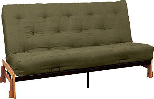 epic furnishings springaire 10inch loft inner spring futon mattress queensize