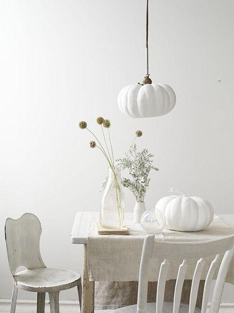 scabiosssssa & white pumpkin by sweet paul