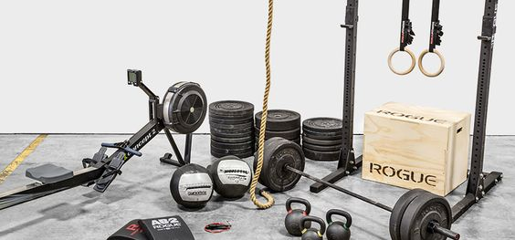 Rogue fitness equipment packages garage gym crossfit