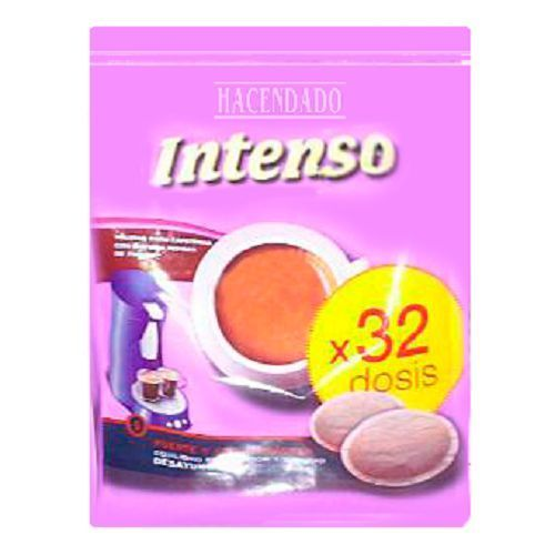 Details About Hacendado Intenso Intense 32 Pods For Senseo