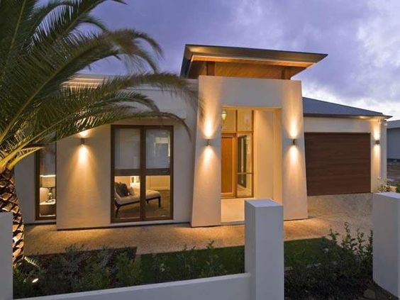 Small Modern House Plans Love how the light adds dimension to the