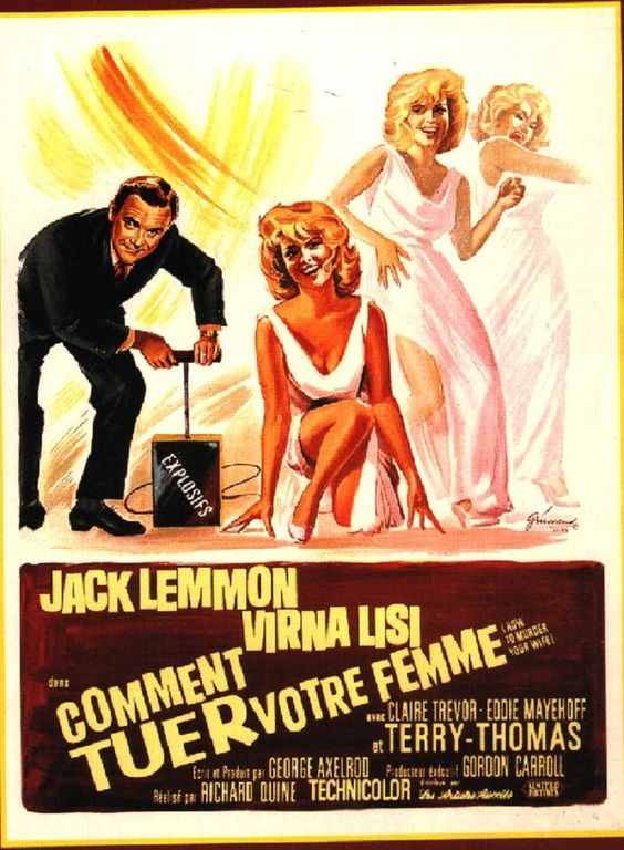 1965 Acteur de Comédie Jack LEMMON