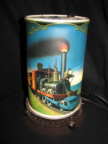 John Deere Motion Lamp : Vintage econolite john bull general railroad train
