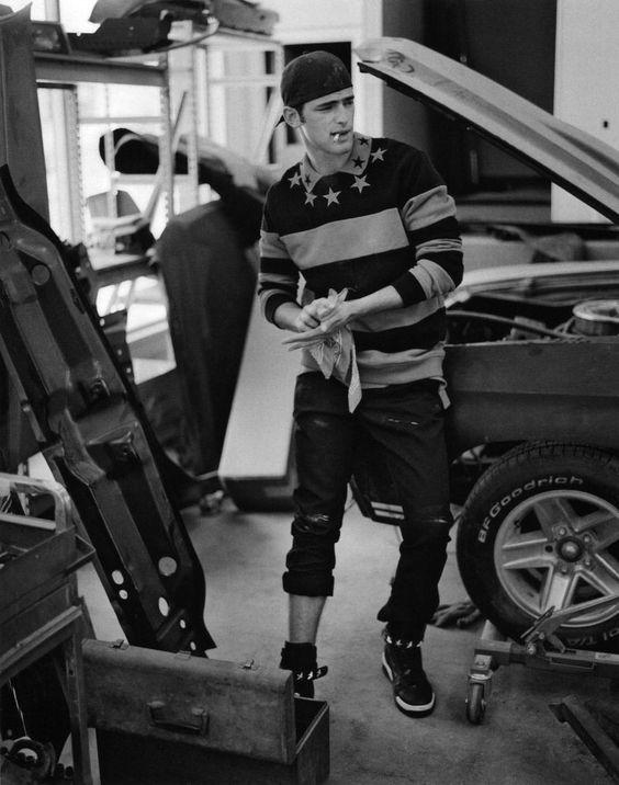 Standard Deviation - Fashion. Design. Culture. Art. Myko.: Vogue Hommes International: Fall / Winter 2012 Menswear Editorial