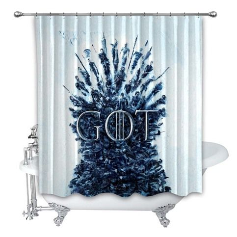 Poster Game Of Thrones Custom Shower Curtain 100 Polyester
