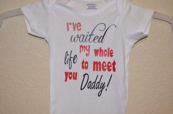 Welcome Home Daddy Onesie by ColoCustomCreations on Etsy