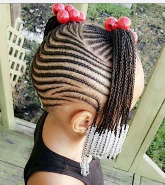 10 Easy Braids Hairstyles For Little Girls Best Black Braids Hairstyles For Kids Hair Styles Kids Hairstyles Braided Hairstyles Easy