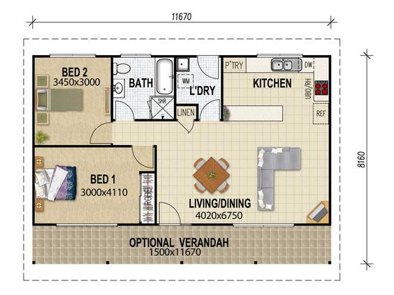 Flats basement bedrooms and bedroom ideas on pinterest Granny cottage plans
