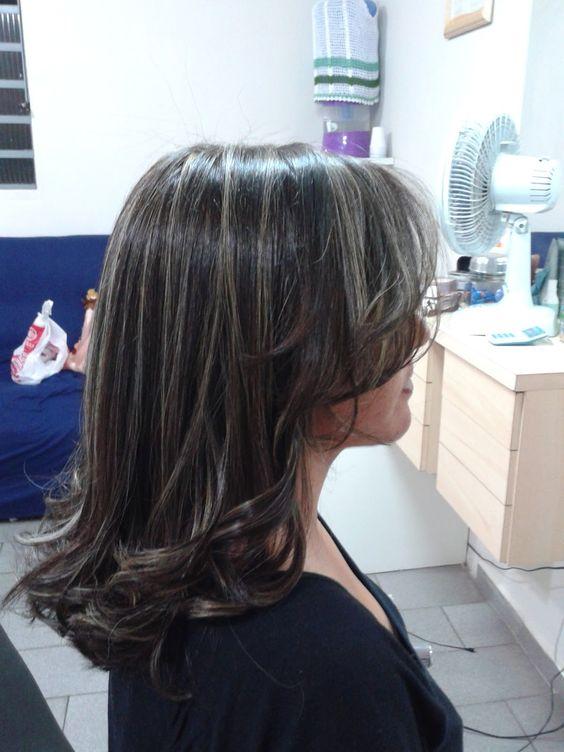 MECHAS PLATINADAS | Cortés de cabello | Pinterest