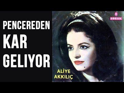Aliye Akkilic Pencereden Kar Geliyor Youtube Muzik Notalari Muzik Sarkilar