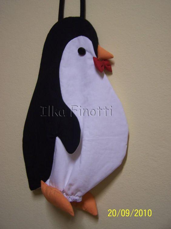 Ilka Finotti: Pinguim: um puxa saco que é um charme!