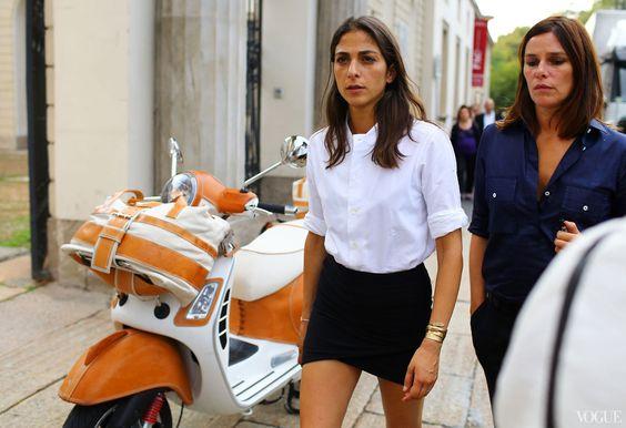 Street Style: Milan Fashion Week Spring 2014 - Capucine Safyurtlu