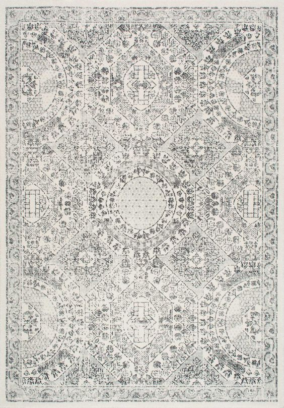 Intricate geometric greatness with Rugs USA's Bosphorus BD30 Honeycomb Labyrinth Rug!: