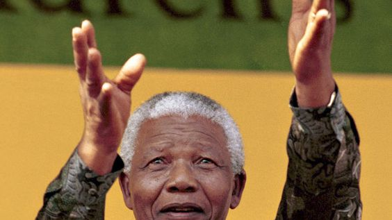 R.I.P Dr. Nelson Mandela  Your legacy will always live on. <3