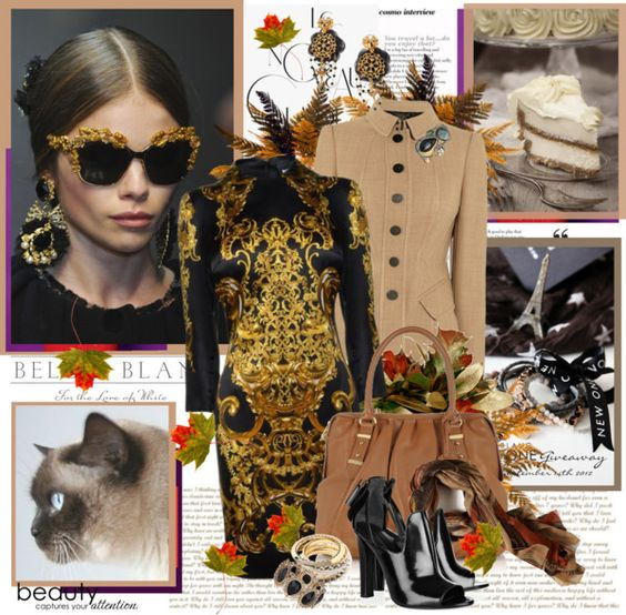 """""""Fall Trend: Baroque"""" by mmbter on Polyvore"""