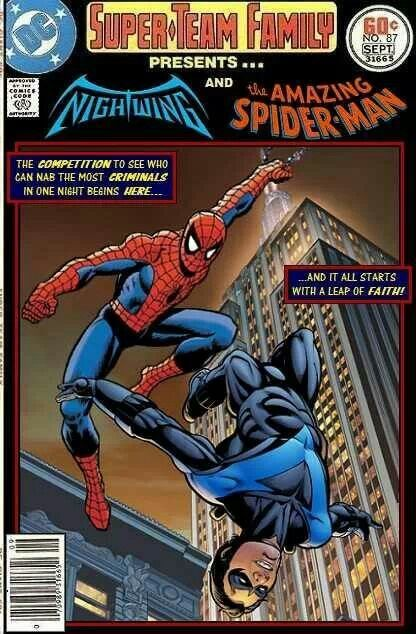 Spider-Man ..nightwing | Mash ups and cross overs | Pinterest