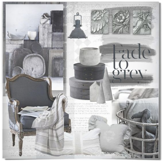 Fade To Grey by kearalachelle on Polyvore featuring interior, interiors, interior design, дом, home decor, interior decorating, CamelBak, Eichholtz and Bloomingville
