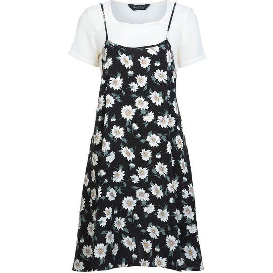 MISS SELFRIDGE Damen Sl Shiny Rib Body T-Shirt