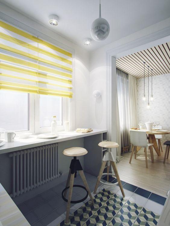 Concept de amenajare pentru un apartament de 60 mp cu 2 dormitoare- Inspiratie…