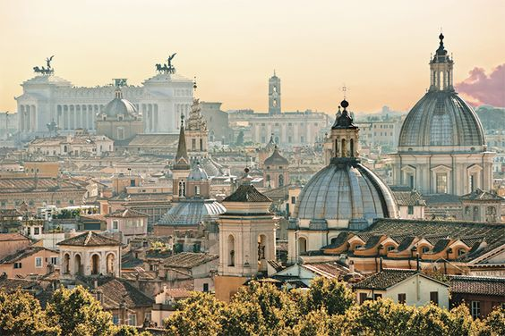 Enjoy the incredible sunset over Rome, one of the world's most historically-rich cities. http://www.hollandamerica.com/cruise-destinations/european-cruises/mediterranean/ports-excursions/rome-italy/