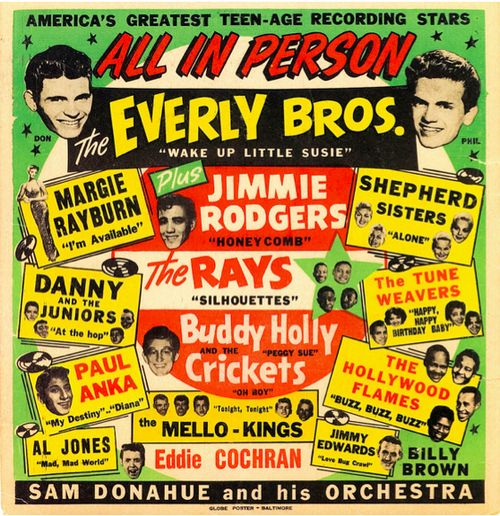 Vintage Rock And Roll Posters 66