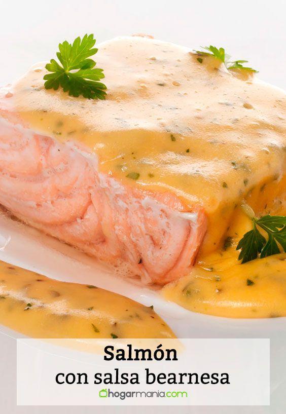 Receta De Salmón Con Salsa Bearnesa Bruno Oteiza Receta Salsa Bearnesa Salmon Recetas Salmon